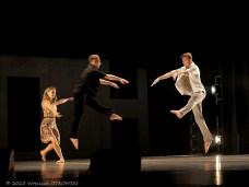 """05.12.2015, Suwalki, Sala Duza Suwalskiego Osrodka Kultury. Spektakl taneczny """"Alexanderplatz"""". © 2015 Wojciech OTLOWSKI"""