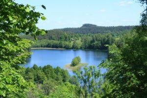 Widok ze szczytu Góry Zamkowej w Szurpiłach. Fot. Hejpodlasie.blogspot.com