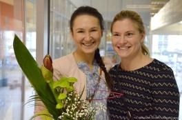 Na zdj. Natalia Krejpcio i Joanna Mendak.