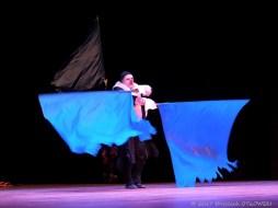 """19.VI.2017, Suwalki, SOK - Sala im. Andrzeja Wajdy, Wigraszek; """"Karnaval"""" -Teatr Giraffe Royal z Estonii © 2017 Wojciech Otlowski"""