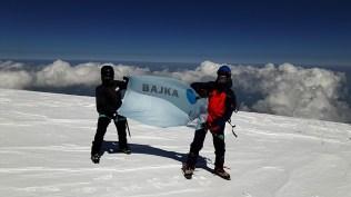 Z. Andruczyk na Elbrusie.