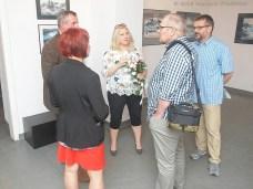 """08 VI 2018, Suwalki, CSW; Wernisaz wystawy Joli Grabowskiej - """"Malarstwo"""" © 2018 Wojciech Otlowski"""