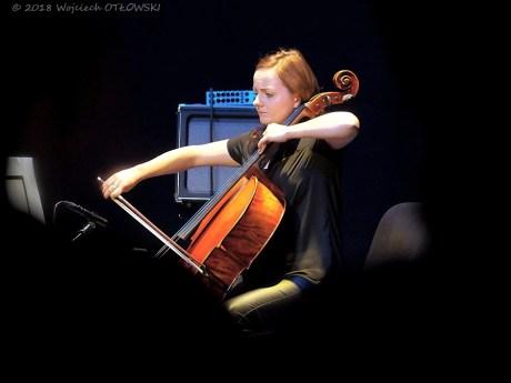 25 X 2018, Suwalki, SOK- Sala Kameralna; koncert duetu LowBow - Malgorzata Znarowska © 2018 Wojciech Otlowski