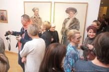 """09 XI 2018 Suwalki; Muzeum Okregowe. Wernisaz wystawy - """"Juliusz Kossak 1824-1899 / Wojciech Kossak 1856-1942"""" © 2018 Wojciech Otlowski"""