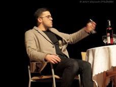 """01 II 2019, Suwałki - SOK; Ogólnopolskie Spotkania Teatralne WTOOPA - spektakl """"Polowanie na Łosia"""" (Teatr Kaprys z Łap) © 2019 Wojciech Otłowski"""
