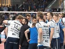 23 XI 2019; Suwałki Arena; Plus Liga; Ślepsk Malow - Indykpol AZS Olsztyn 3:1 © 2019 Wojciech Otłowski