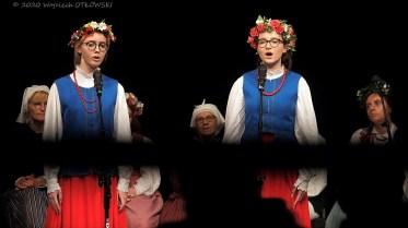 20 IX 2020 , Suwałki - SOK - Sala Kameralna - koncert finałowy: warsztatów tradycyjnych pieśni suwalskich - Na styku kultur © 2020 Wojciech Otłowski