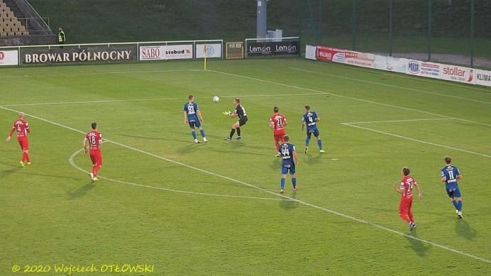11 IX 2020 ; Suwałki - Stadion Miejski; I liga, Wigry - Skra Częstochowa 2:1 © 2020 Wojciech Otłowski