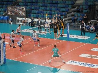 10 II 2021; Suwałki Arena; PlusLiga; Ślepsk Malow - Skra Bełchatów 1:3 © 2021 Wojciech Otłowski
