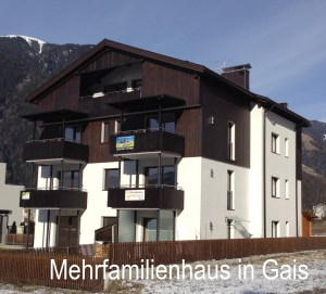 Mehrfamilienhaus Gais