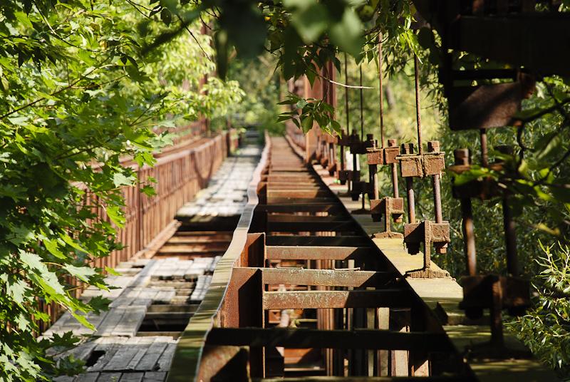 Bukčių pėsčiųjų tiltas (video + foto)
