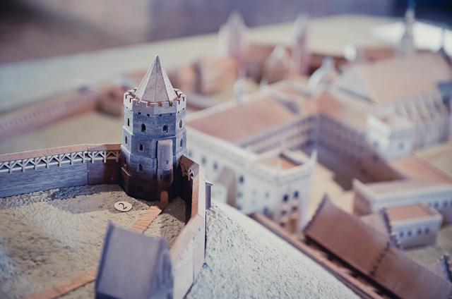 Žmogus rudu chalatu: planuojama atstatyti Aukštutinę pilį