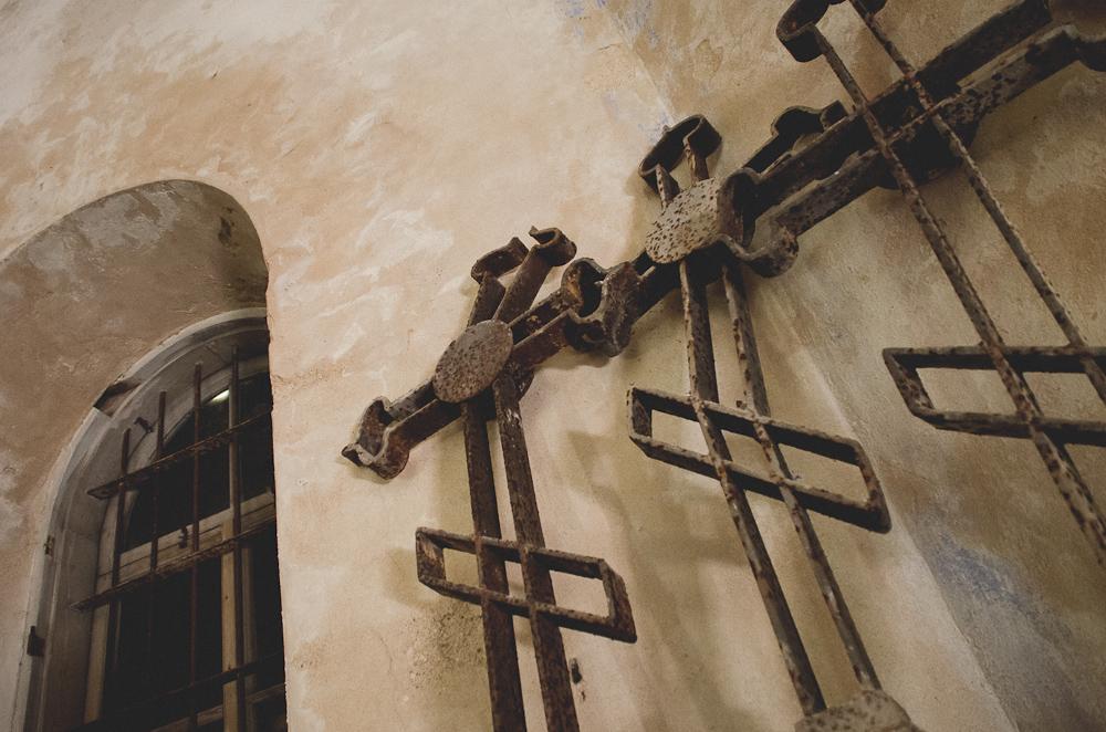 Apleista Puski cerkvė. Hiiumaa, Estija