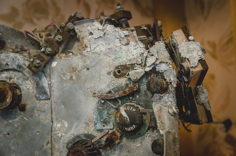 Bardakas Sõrve karo muziejuje