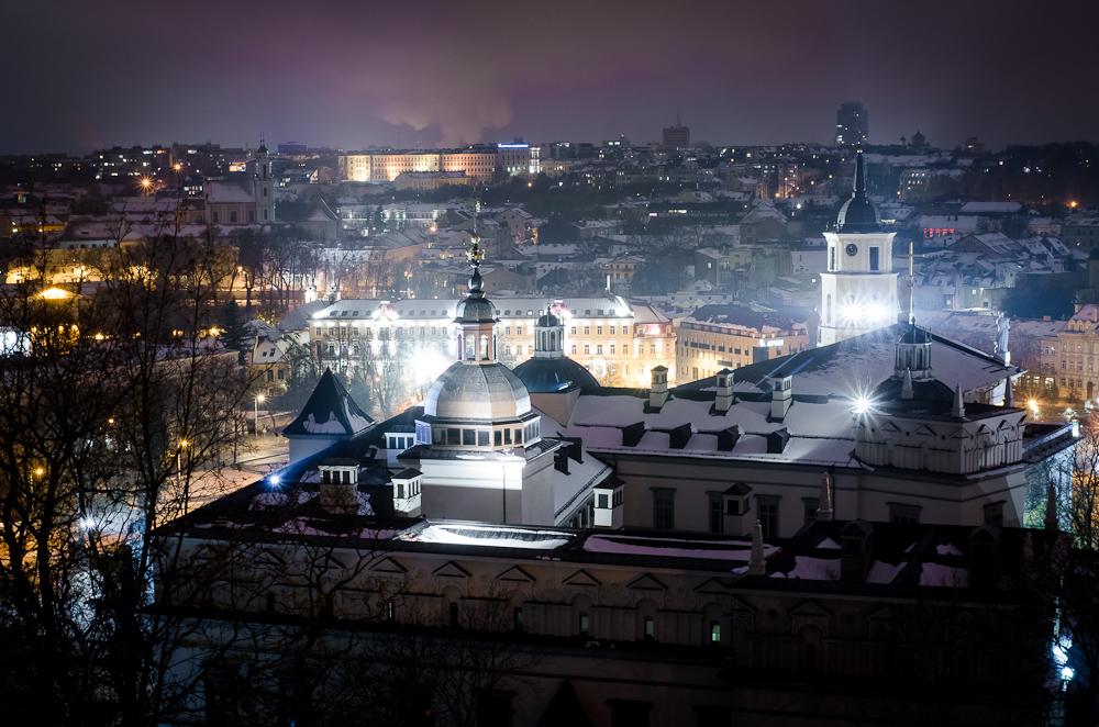 Naktinis Vilniaus šturmas su LUN'atikais