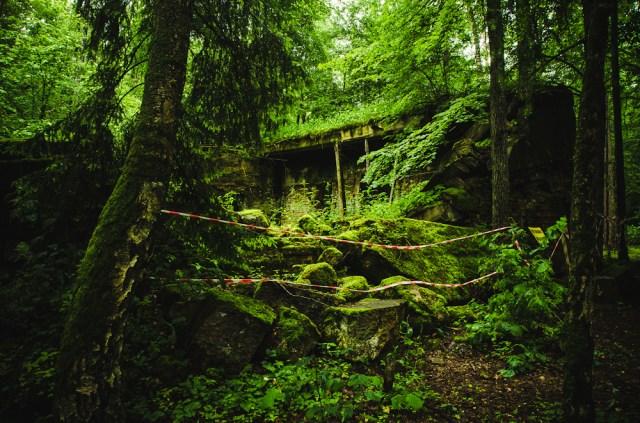 Lengvasis bunkeris, kuriame buvo stenografistų ir stenotipistų patalpos (7)