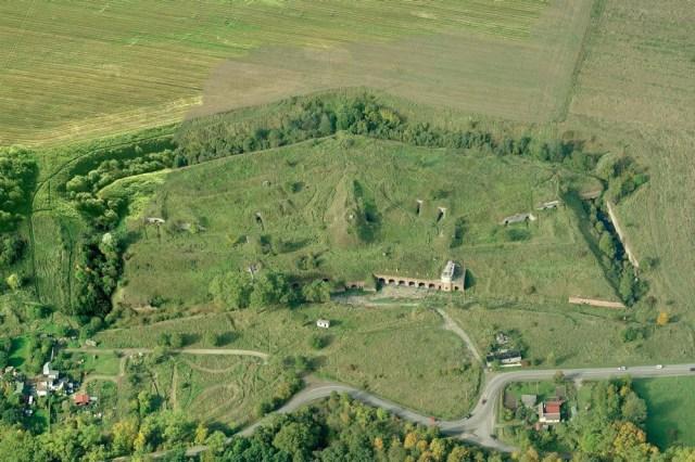 Forto panorama iš rytų pusės