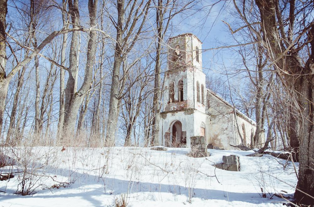 Egipto liuteronų bendruomenės bažnyčia Latvijos pasienyje