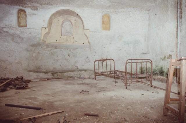 Didžiausia patalpa su nedidele koplytėle - maltiečiai labai religingi