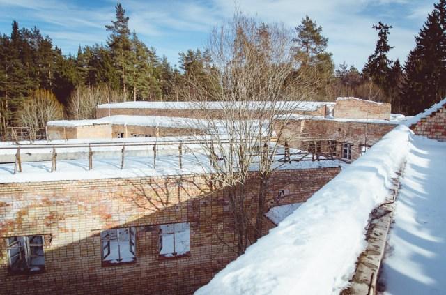 Centrinio korpuso stogas