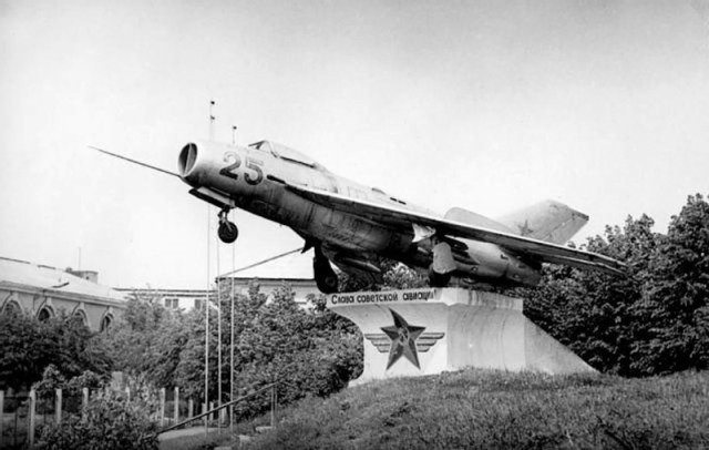 МиГ-19 Daugpilio tvirtovėje