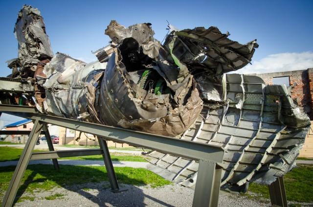 Numušto MiG 21 liekanos