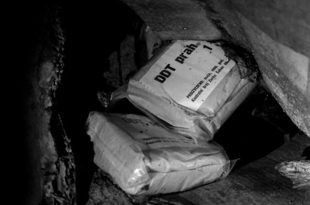 DDT milteliai. Uždraustas preparatas nuo maliarijos, nuodas pažeidžiantis nervų sistemą