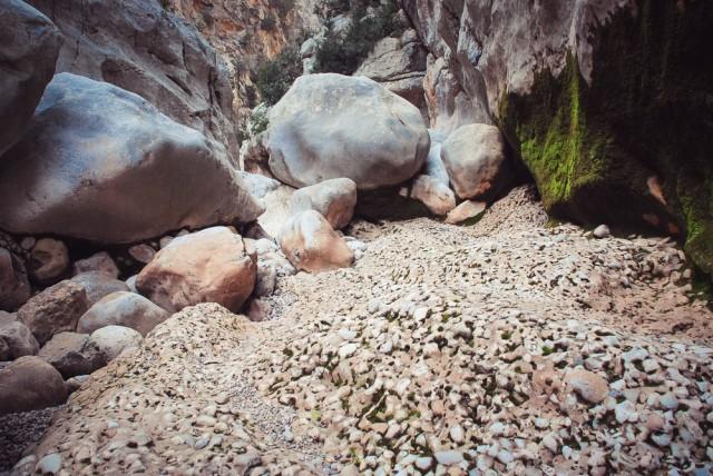 Įdomus akmenų darinys
