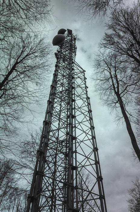 Antena nesaugoma, bet lipti dėl laiko stokos nesiryžome