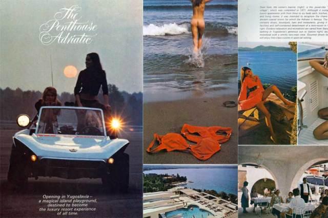 Iškarpa iš 1972 metų Penthouse žurnalo