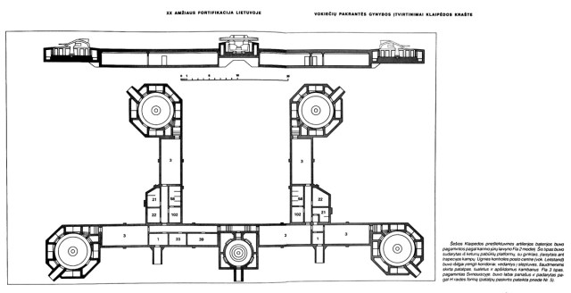 Tokio išplanavimo baterijų Klaipėdoje buvo net šešios