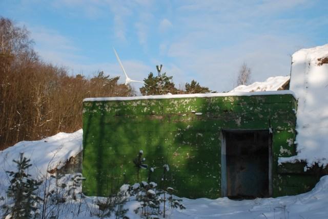 Už keliasdešimties metrų yra dar vienas modifikuotas požeminis caro laikų statinys