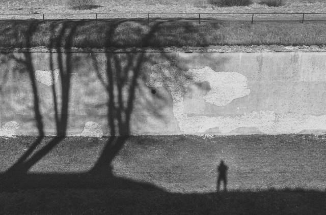 Žvilgsnis į kotreskarpinę sieną