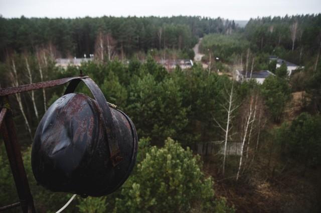 Teritorijos panorama nuo bokštelio
