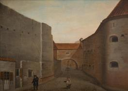 Gatvė Vilniuje (1854). Vincentas Dmochovskis