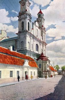 F. Zaniewski. Misionierių bažnyčia, 1907-1924 m.