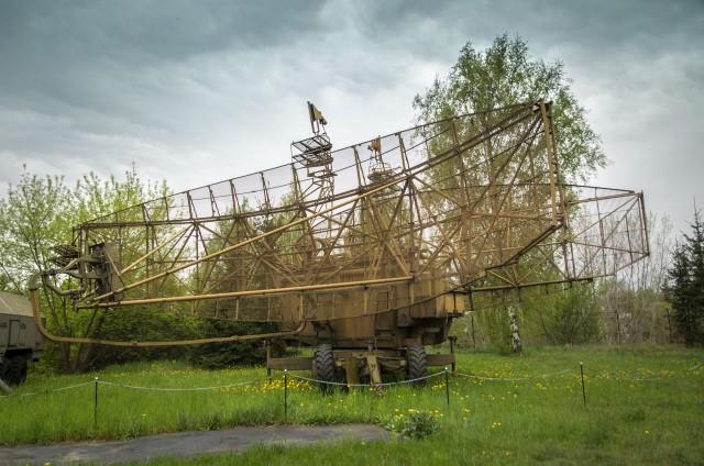 Radiolokacinis kompleksas П-80 «Алтай» Varšuvoje