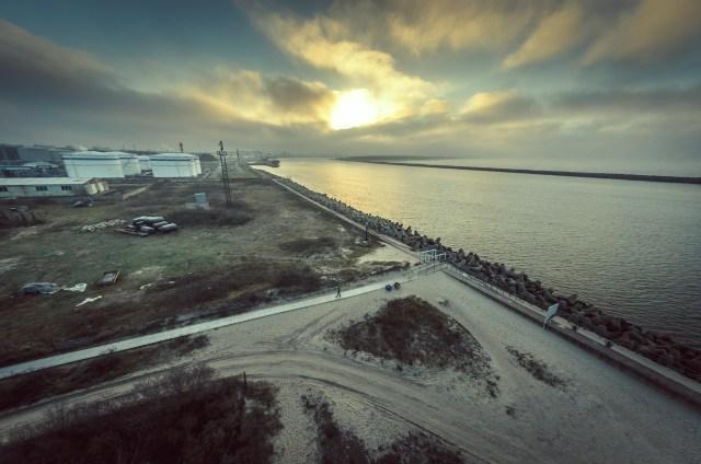 Žvilgsnis į uosto pusę