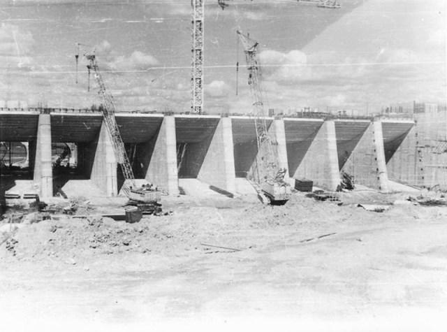Kruonio HAE statyba 1984 m.