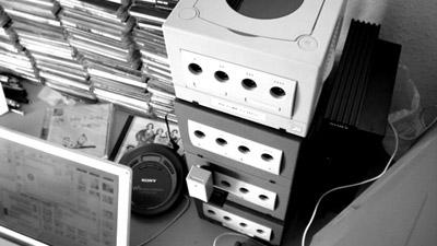 Vier GameCubes