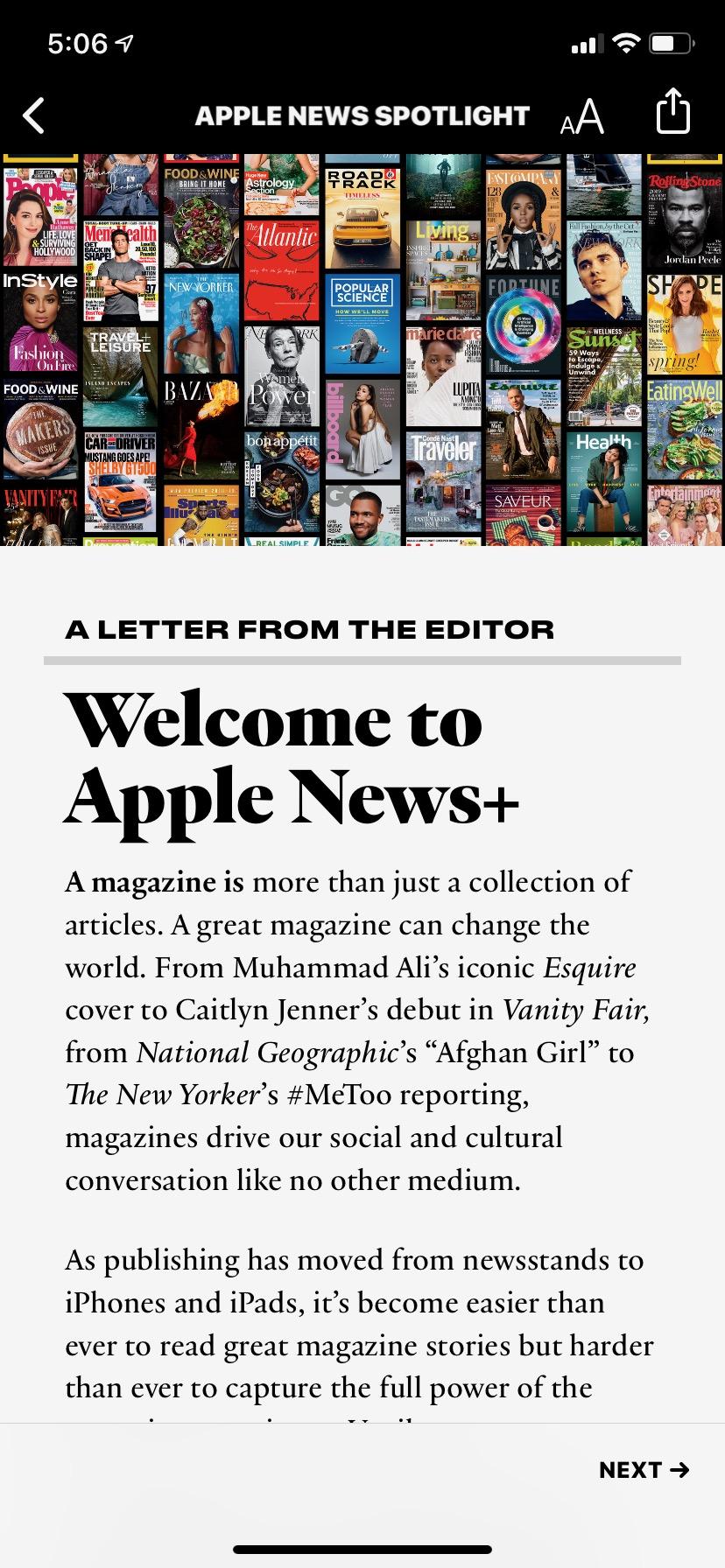 apple news plus is