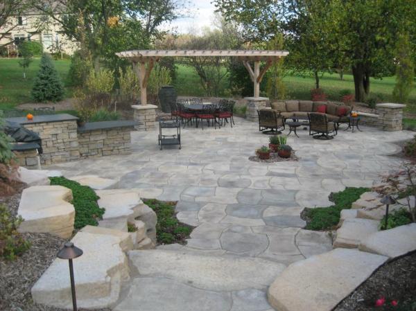 rosetta stone landscape hardscape