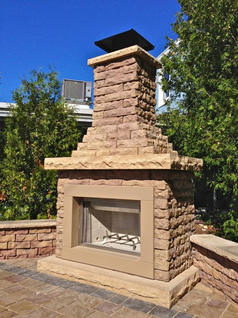 Claremont Fireplace  Outdoor Fireplace Kits  Outdoor Living  Nie