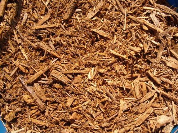 gold mulch lawn & garden