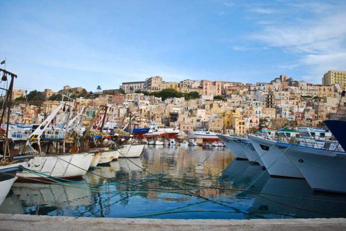 wycieczka objazdowa po Sycylii, Sciacca, Sicilia, Sycylia, Port w Sciacca