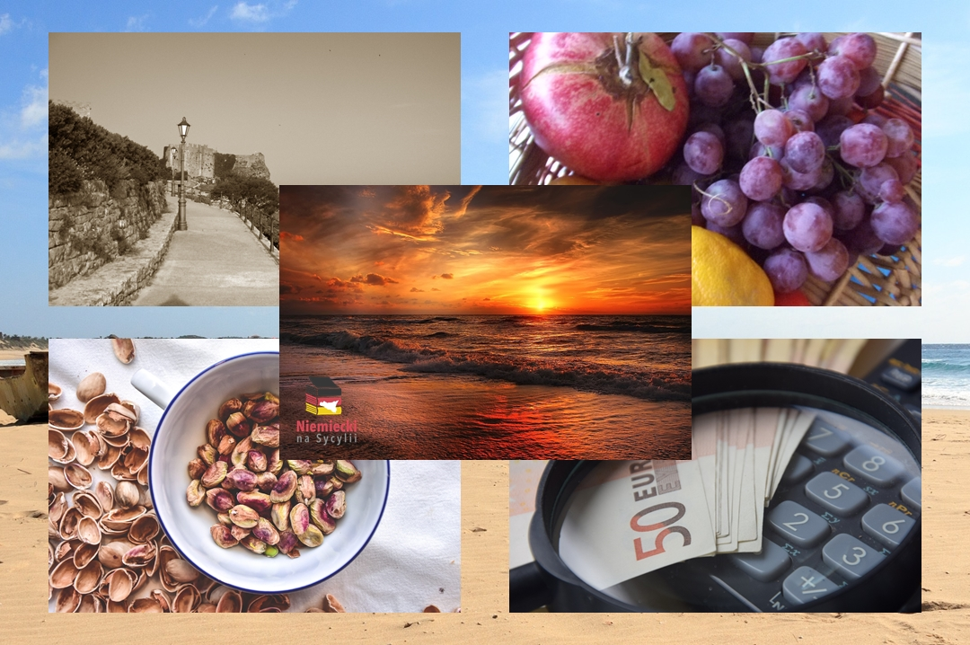 Sycylia jesienią, Sycylia, jesień, zachód słońca, morze, zachód słońca nad morzem, saliny w Trapani, saliny, Trapani, plaża, zachód słońca na plaży, dobre ceny, temperatura na Sycylii jesienią, klimat Sycylia jesienią, klimat na Sycylii jesienią, klimat Sycylia jesień, pogoda Sycylia jesień, pogoda na Sycylii jesienią, pogoda Trapani jesień, pogoda w Trapani jesienią, czy warto jechać na Sycylię jesienią, dlaczego jechać na Sycylię jesienią, zbiory oliwek, zbiór oliwek, oliwki Sycylia, jak się zbiera oliwki, winogrono, winogrono Sycylia, winobranie, zbiory winogron, pasta con i pistacchi, pasta pistacchi, makaron z pistacjami, Parco dello Zingaro, Rezerwat Cygana, ceny Trapani, ceny Sycylia, puste szlaki Sycylia, puste szlaki jesienią na Sycylii, Segesta jesienią, puste plaże, plaże Sycylia jesienią, pistacje z Bronte, Ewa soczewka