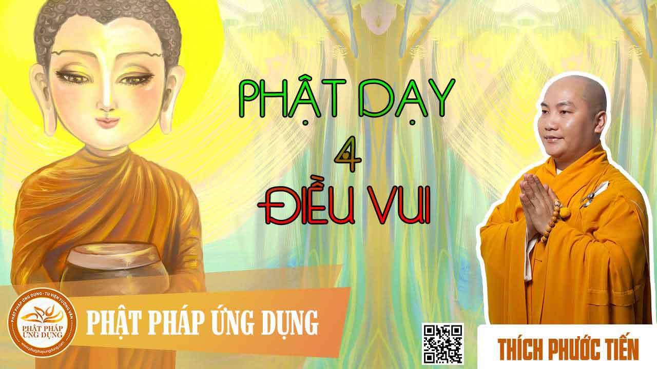 Hình đại diện Phật dạy bốn điều vui