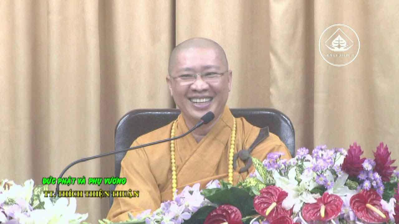 Hình đại diện Đức Phật và Phụ Vương