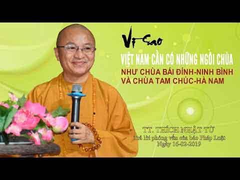 Hình đại diện Vì sao Việt Nam cần có những ngôi chùa lớn như Bái Đính hay Tam Chúc