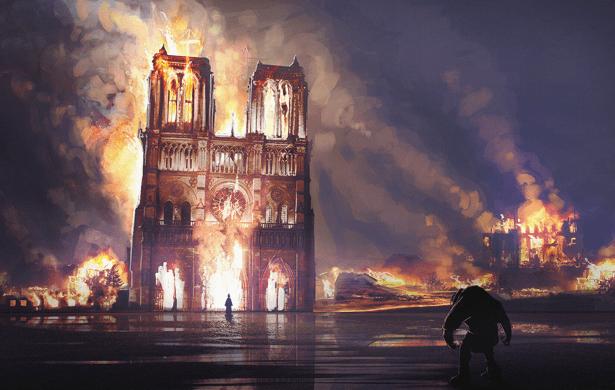 Dlaczego Francji już nie ma, czyli pożar katedry Notre Dame